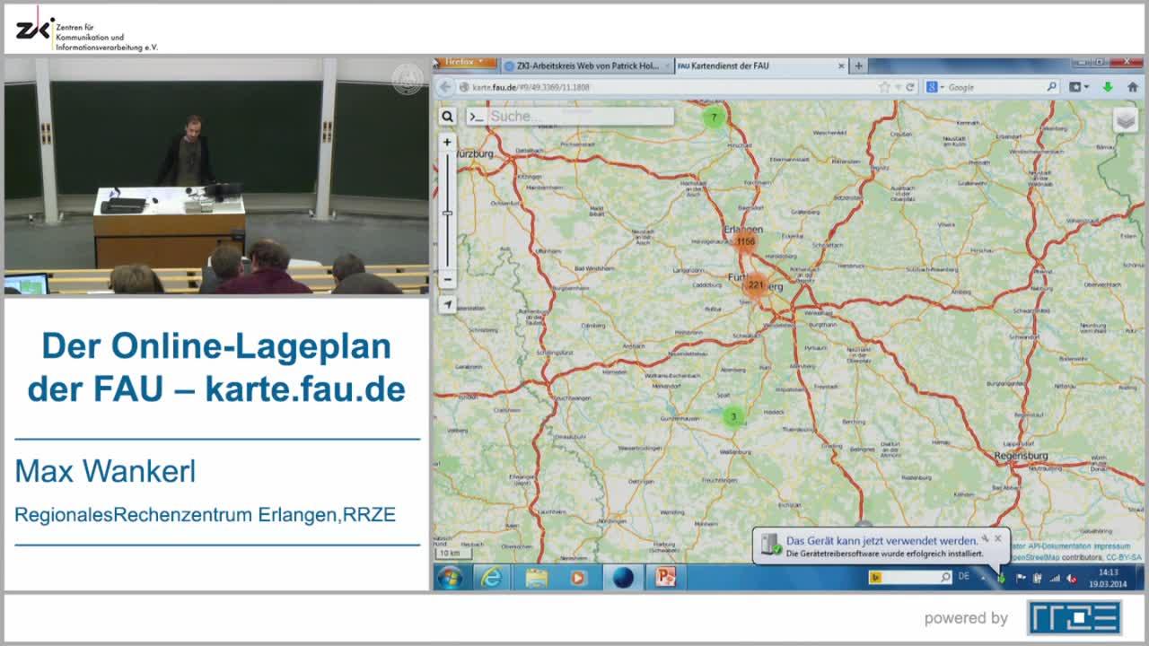 Der Online-Lageplan der FAU – karte.fau.de preview image