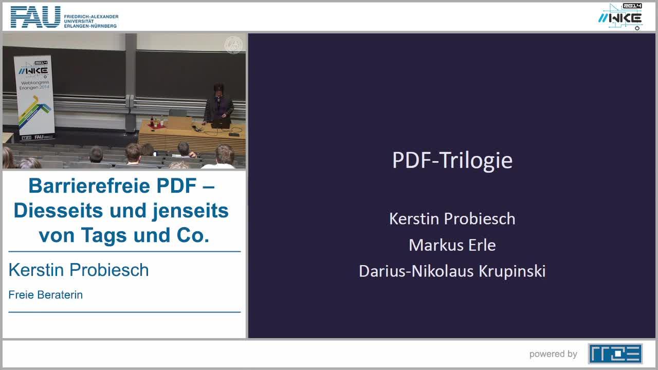 BF - Barrierefreie PDF – Diesseits und jenseits von Tags und Co. preview image