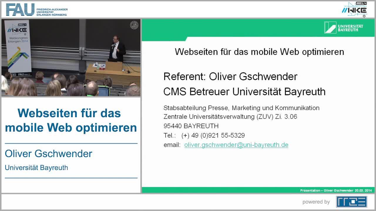 WD - Webseiten für das mobile Web optimieren preview image