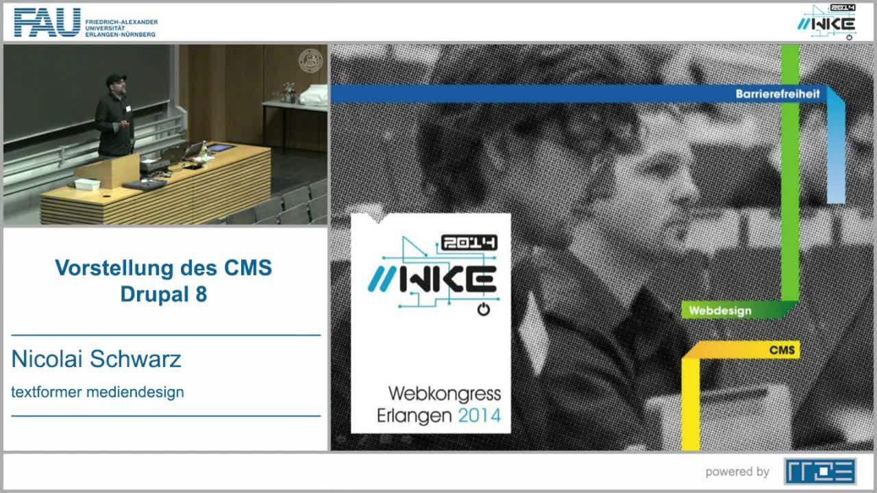 CMS - Vorstellung des CMS Drupal 8 preview image