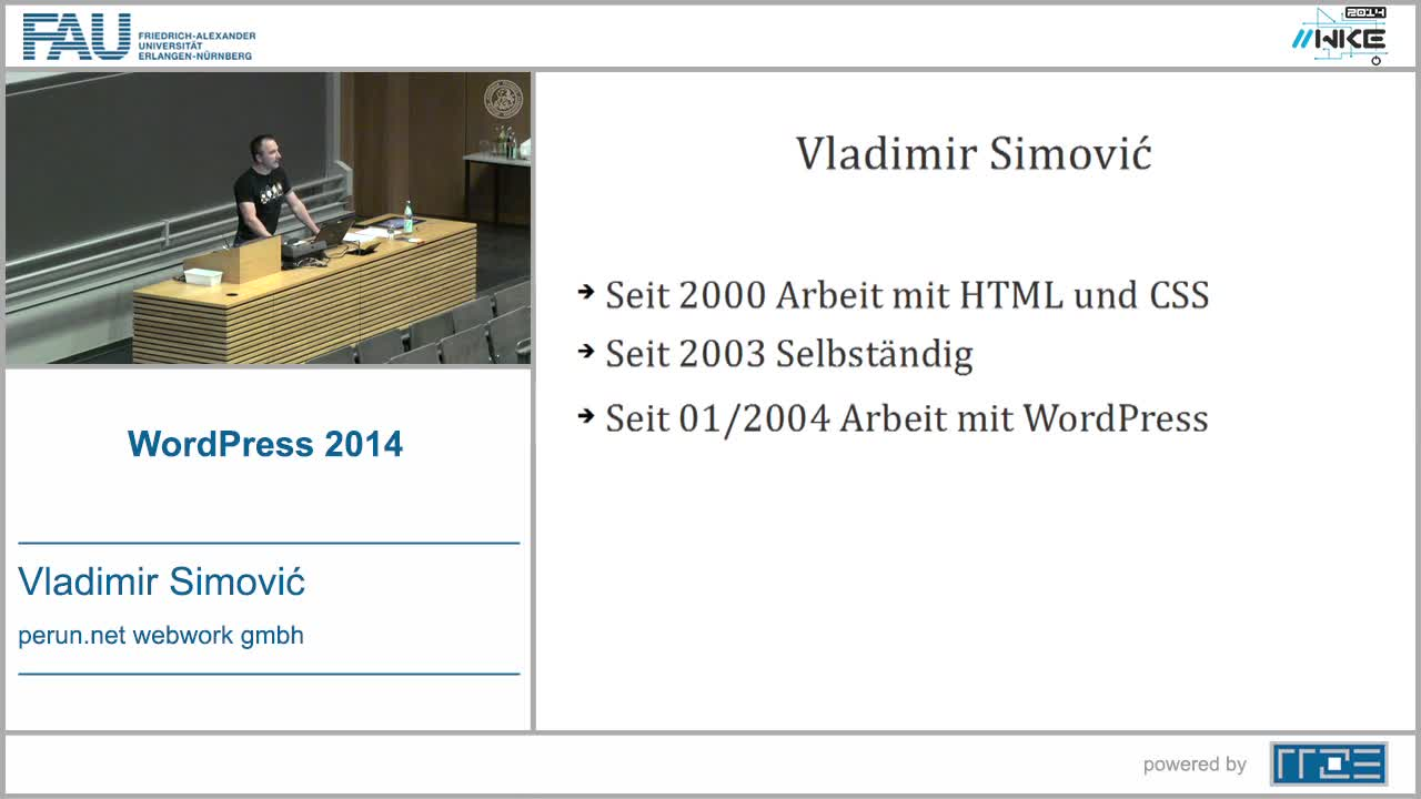 CMS - WordPress 2014 preview image