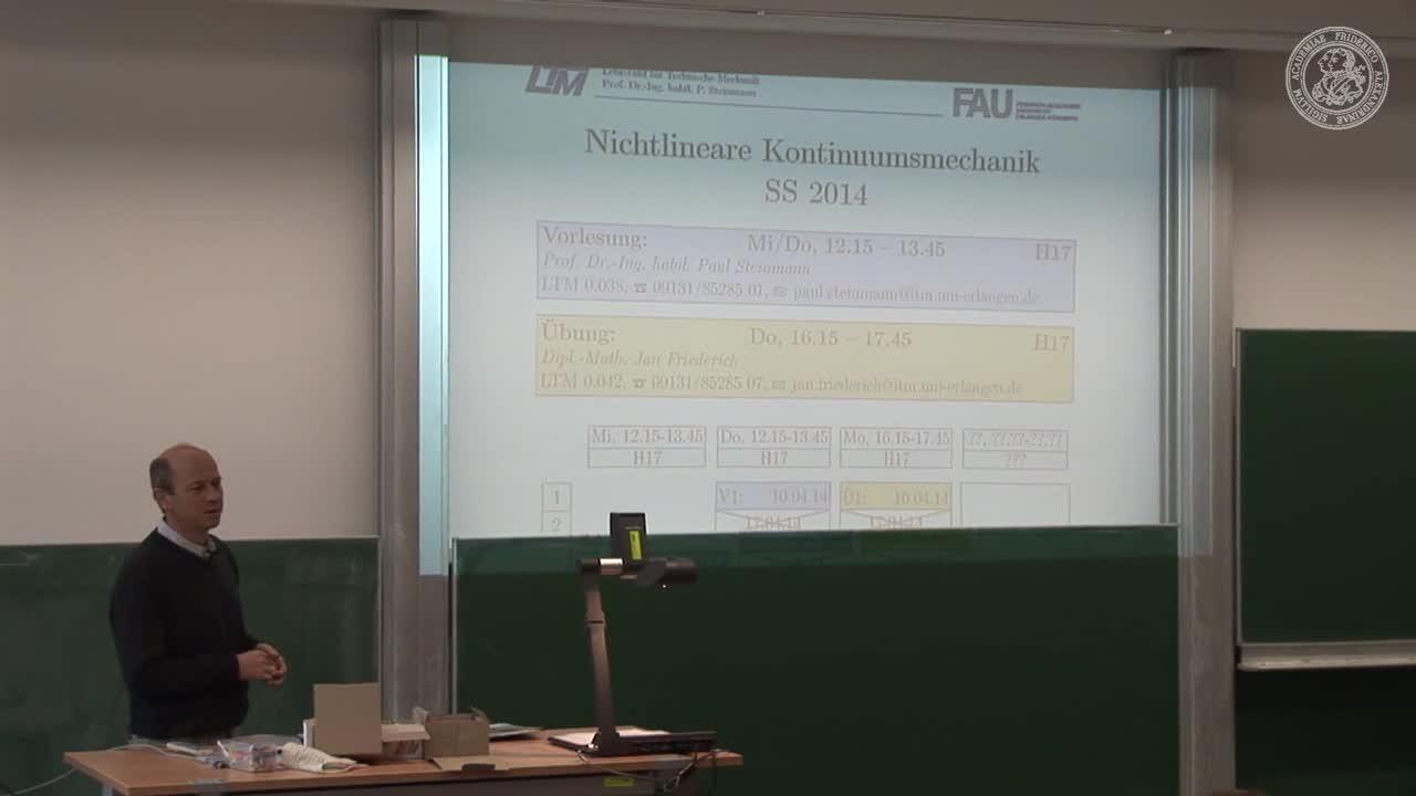 Nichtlineare Kontinuumsmechanik (NLKM) preview image