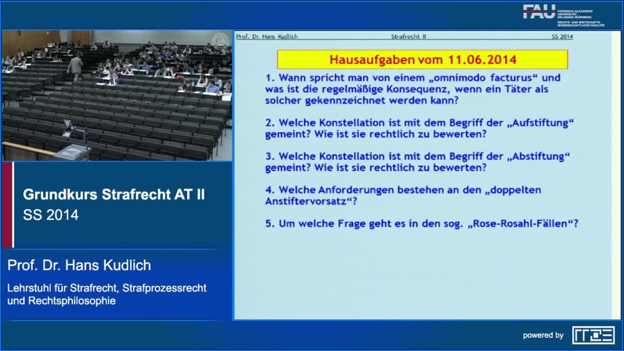 Grundkurs Strafrecht AT II preview image