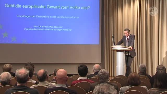 Geht die europäische Gewalt vom Volke aus? Grundfragen der Demokratie in der Europäischen Union preview image