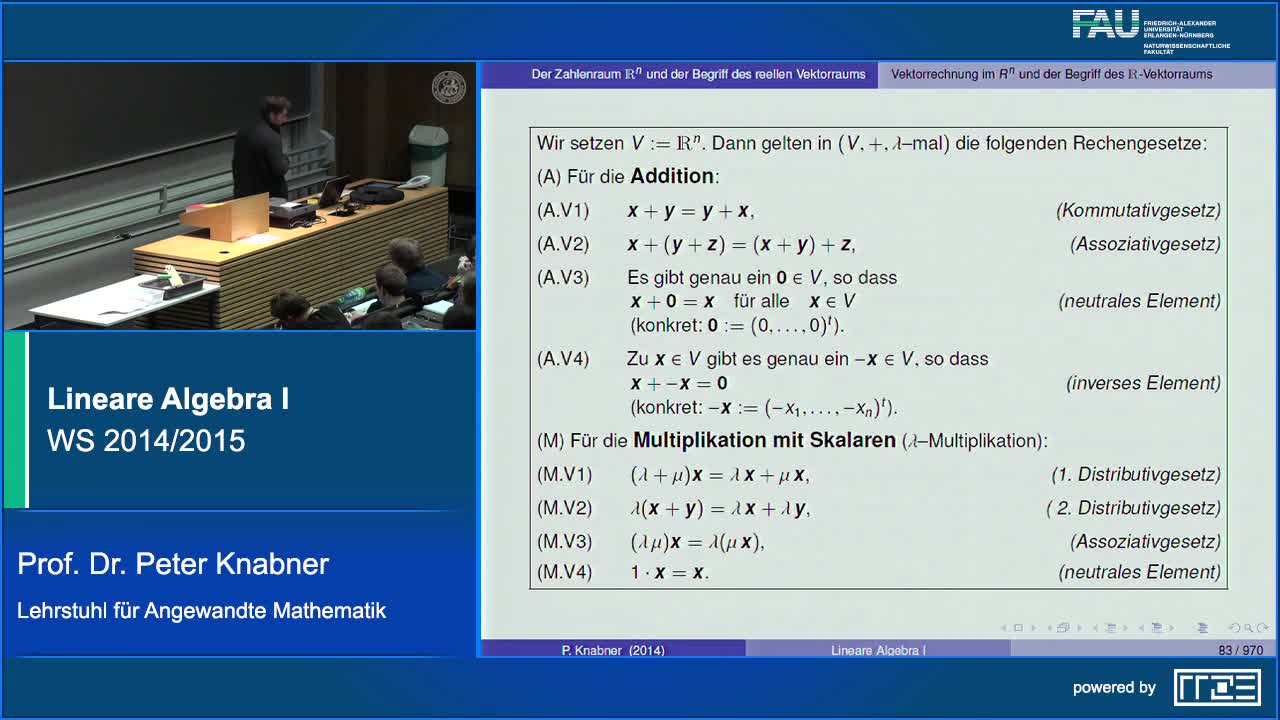 Lineare Algebra I preview image
