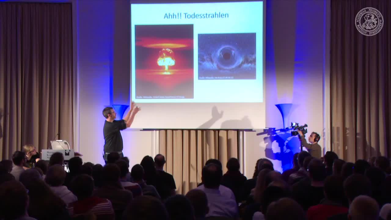 Bild zum Video Polarisierte Antiprotonenstrahlen