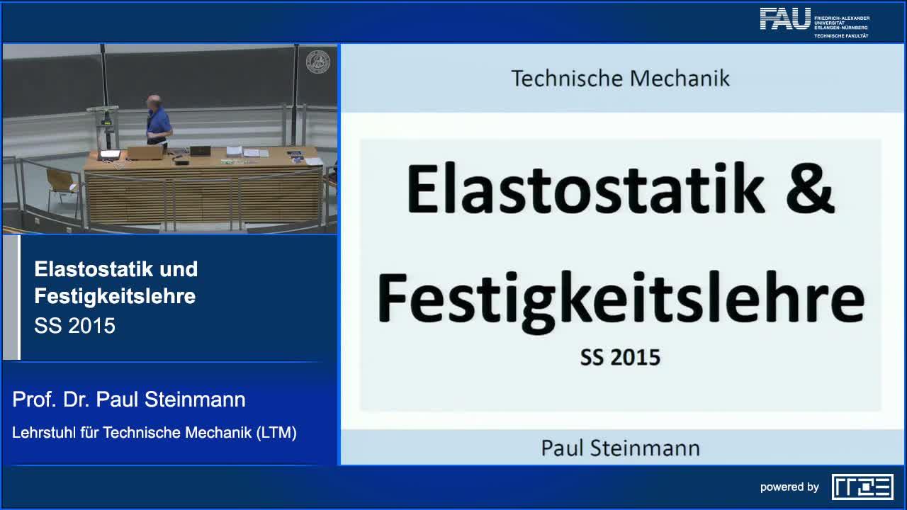Elastostatik und Festigkeitslehre preview image