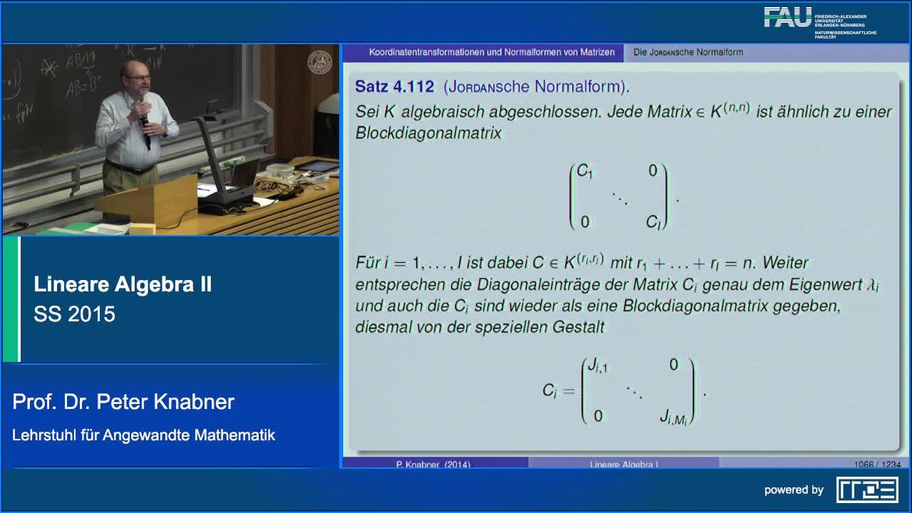 Lineare Algebra II preview image