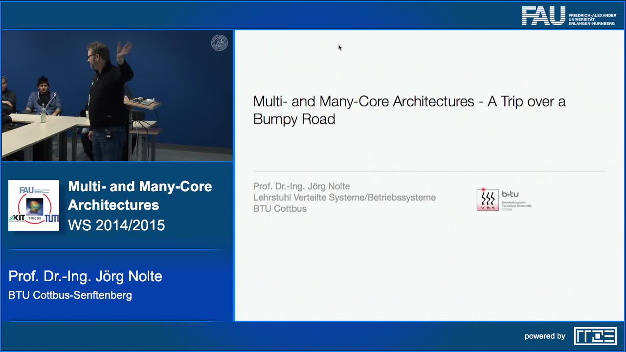 Multi- and Many-Core Architectures - A Trip over a Bumpy Road preview image