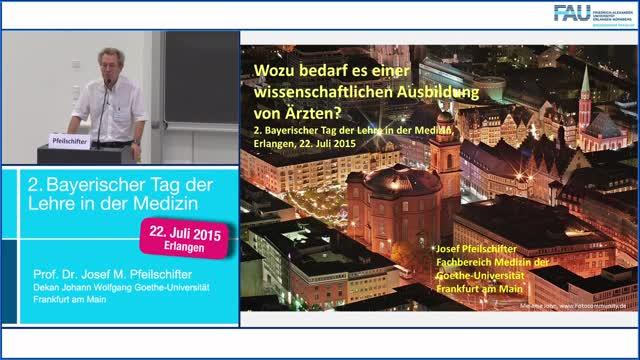 Wissenschaftliche Ausbildung von Ärzten - 2. Bayerischer Tag der Lehre in der Medizin preview image