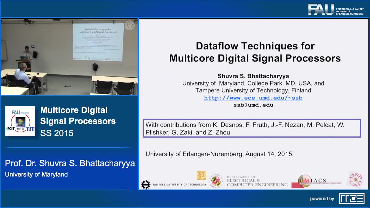 Dataflow based Design and Implementation for Multicore Digital Signal Processors preview image