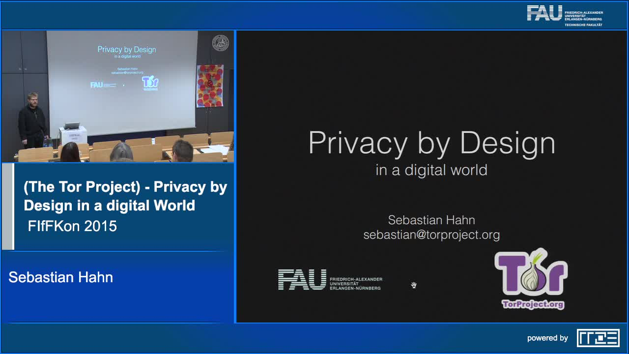 Privacy by Design in a digital World preview image