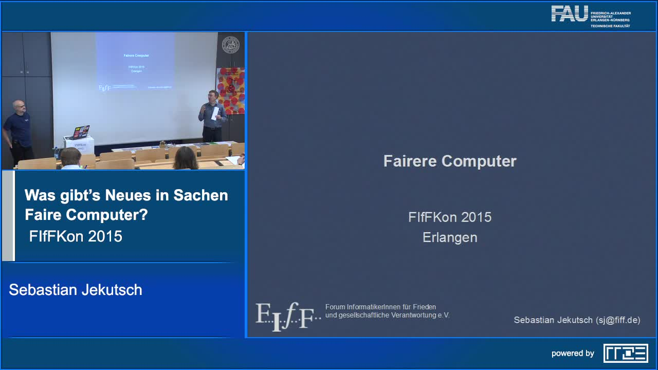 Was gibt's Neues in Sachen Faire Computer? preview image