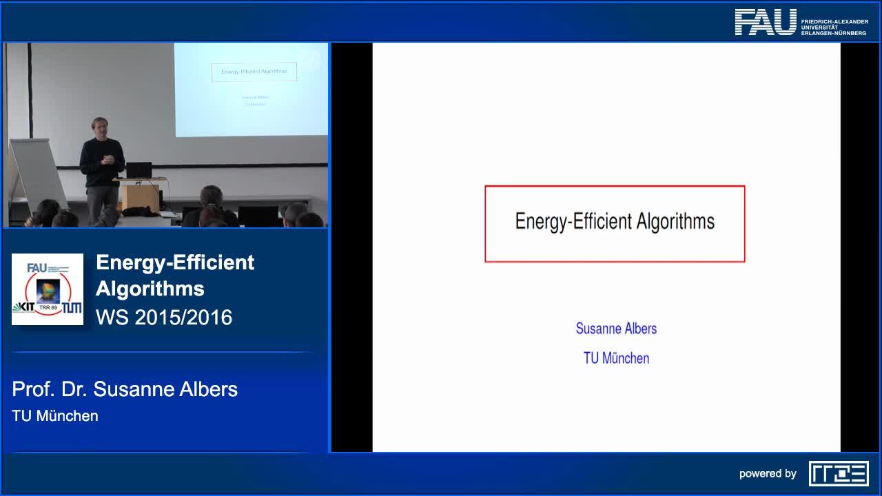 Energy-Efficient Algorithms preview image
