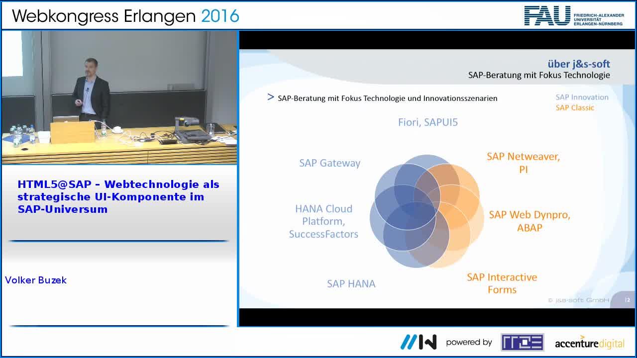 HTML5@SAP – Webtechnologie als strategische UI-Komponente im SAP-Universum preview image