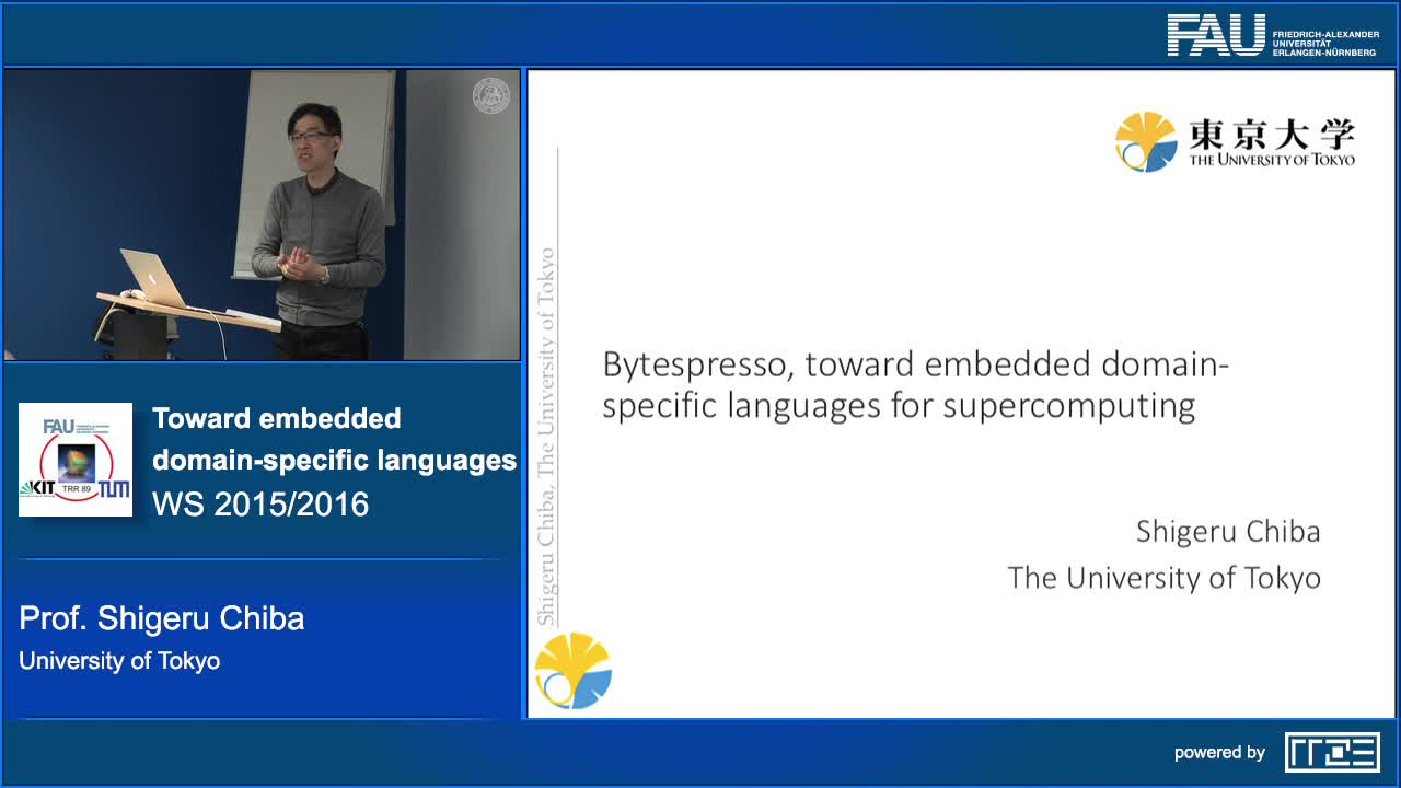 Bytespresso, toward embedded domain-specific languages for supercomputing preview image