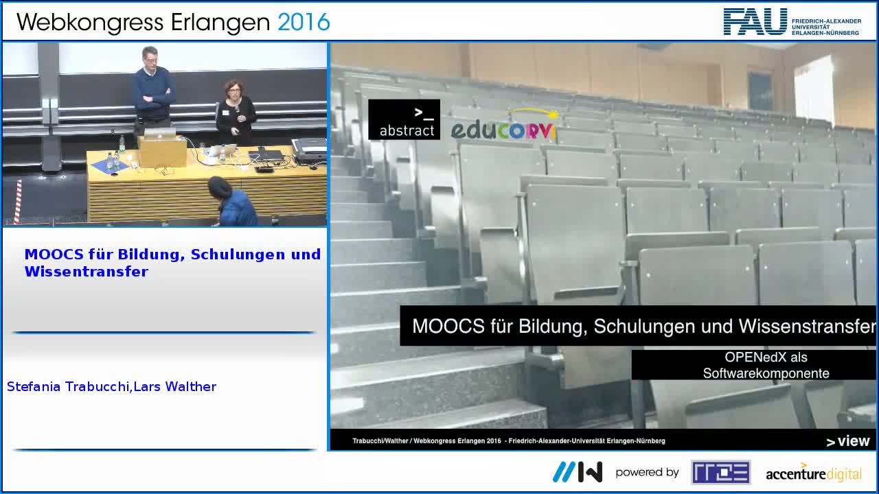 MOOCS für Bildung, Schulungen und Wissentransfer preview image