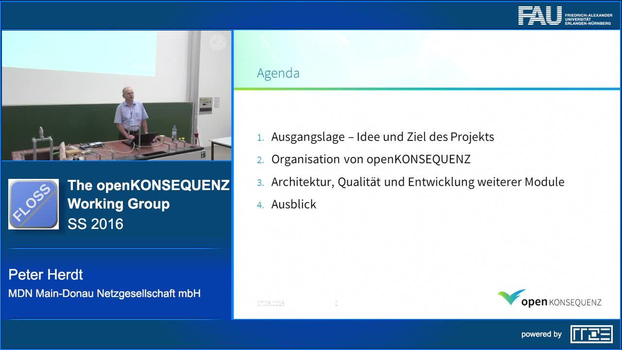 Die openKONSEQUENZ Working Group als Softwaremodell der Zukunft preview image