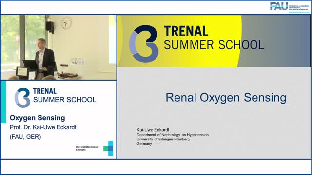 TRENAL Summer School - Oxygen Sensing preview image