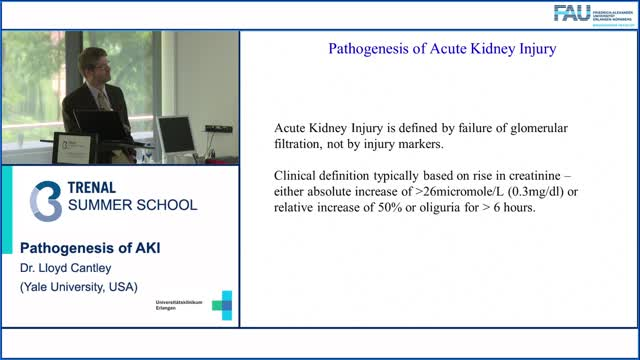TRENAL Summer School - Pathogenesis of AKI preview image