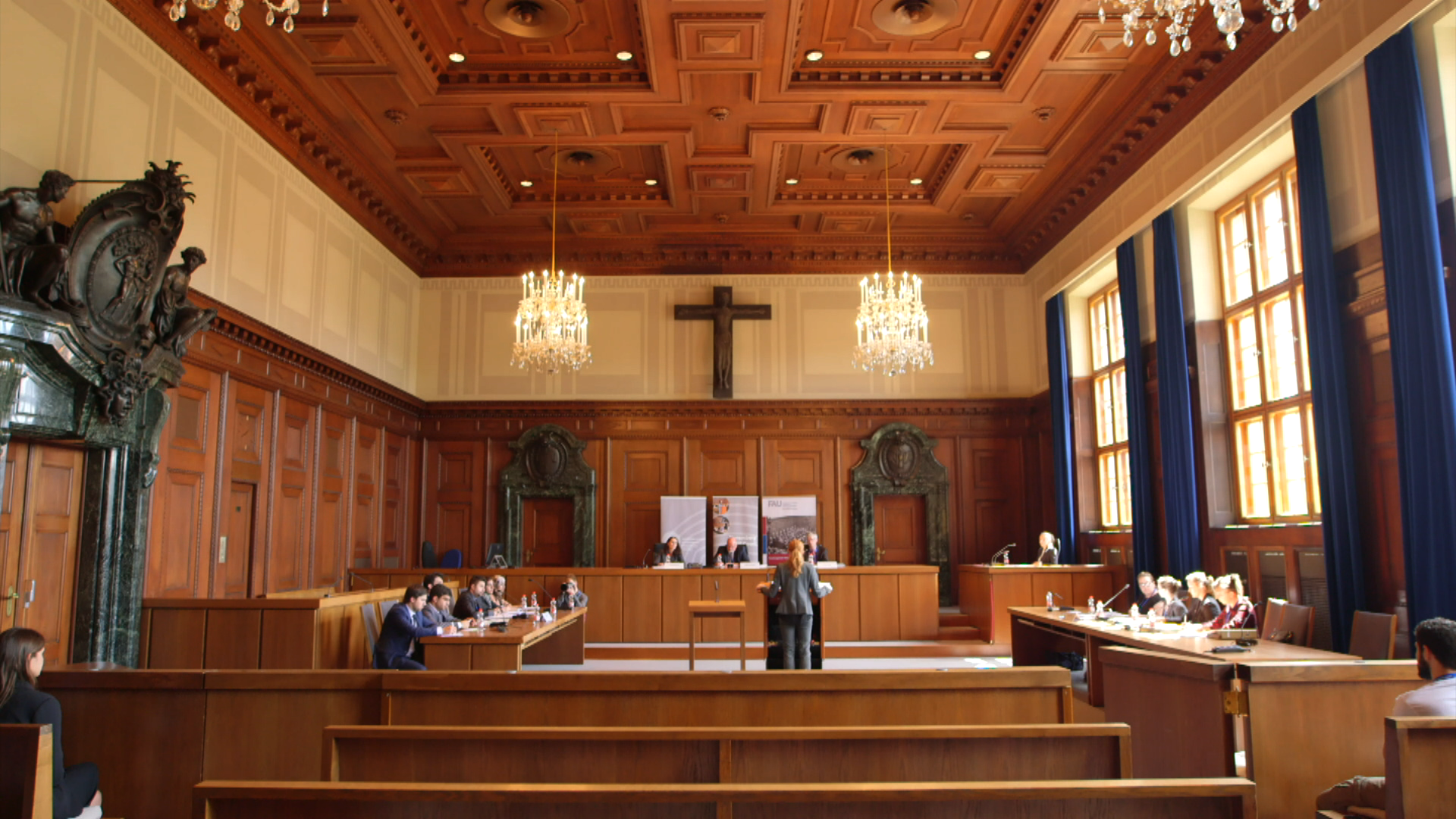 Bild zum Video Nuremberg Moot Court
