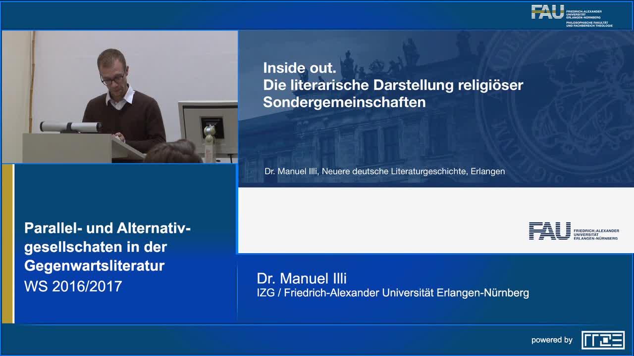 Inside Out. Die literarische Darstellung religiöser Sondergemeinschaften preview image