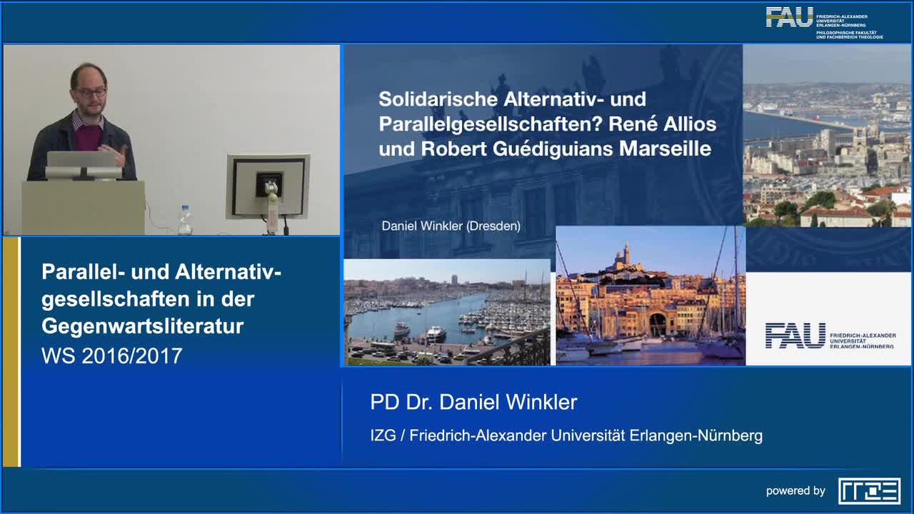 Solidarische Parallel- und Alternativgesellschaften. Robert Guédiguians Marseille, Paola Randes Neapel preview image