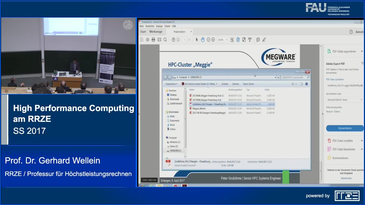 High Performance Computing am RRZE preview image