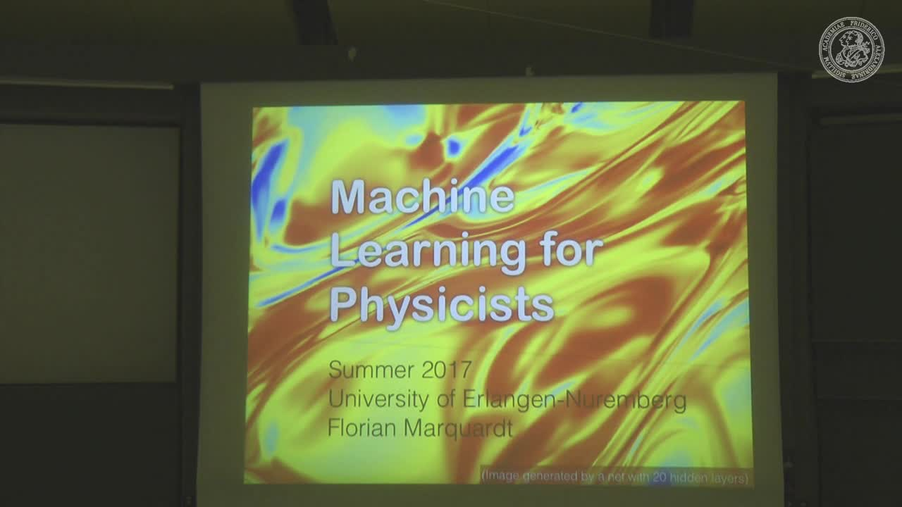 Machine Learning for Physicists preview image