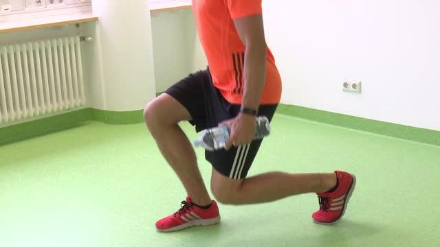Krafttraining - Fortgeschrittene schwer - Einbeinige Kniebeuge preview image