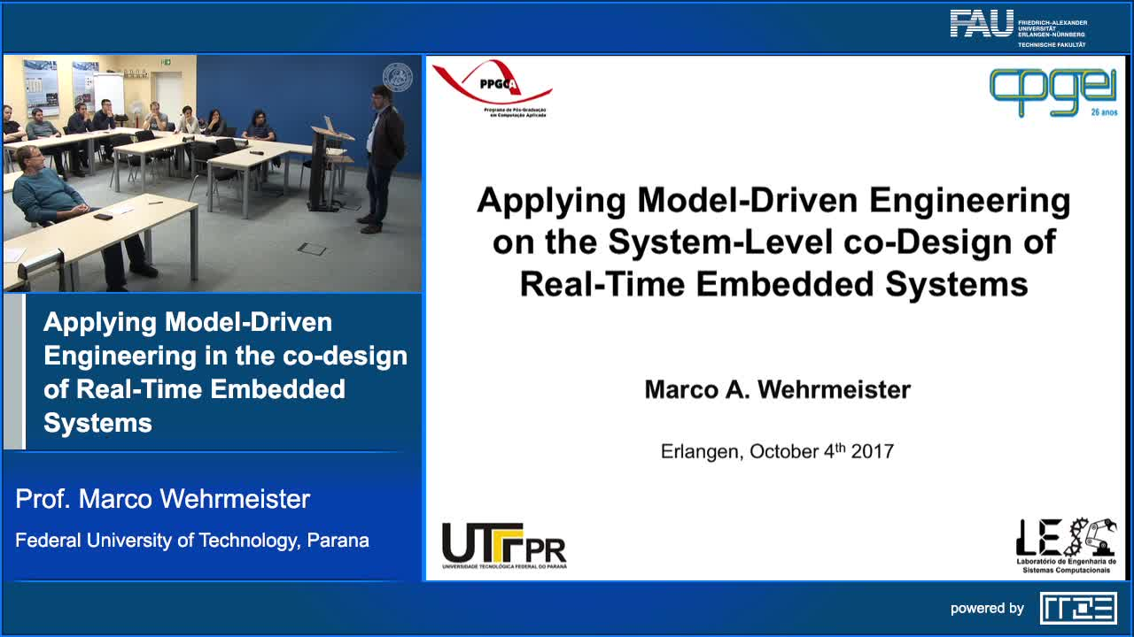 Applying Model-Driven Engineering in the co-design of Real-Time Embedded Systems preview image