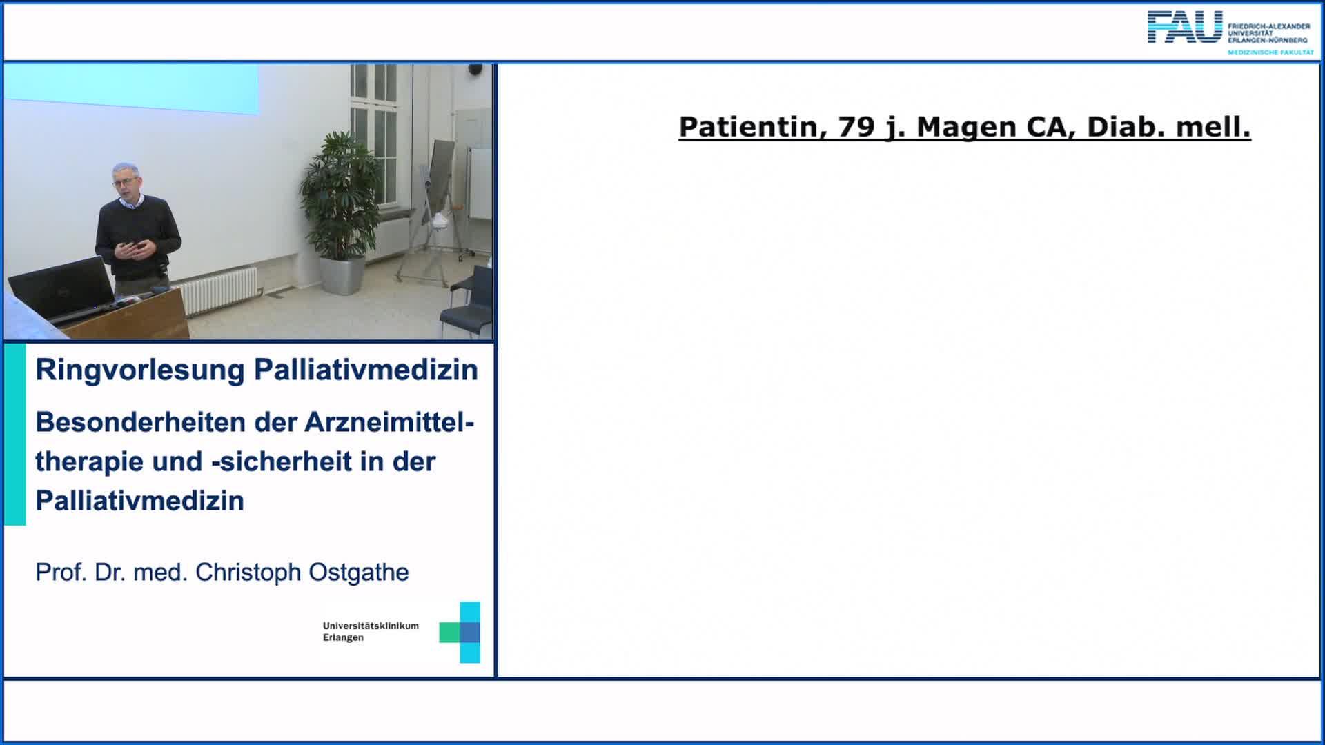 Besonderheiten der Arzneimitteltherapie und -sicherheit in der  Palliativmedizin preview image