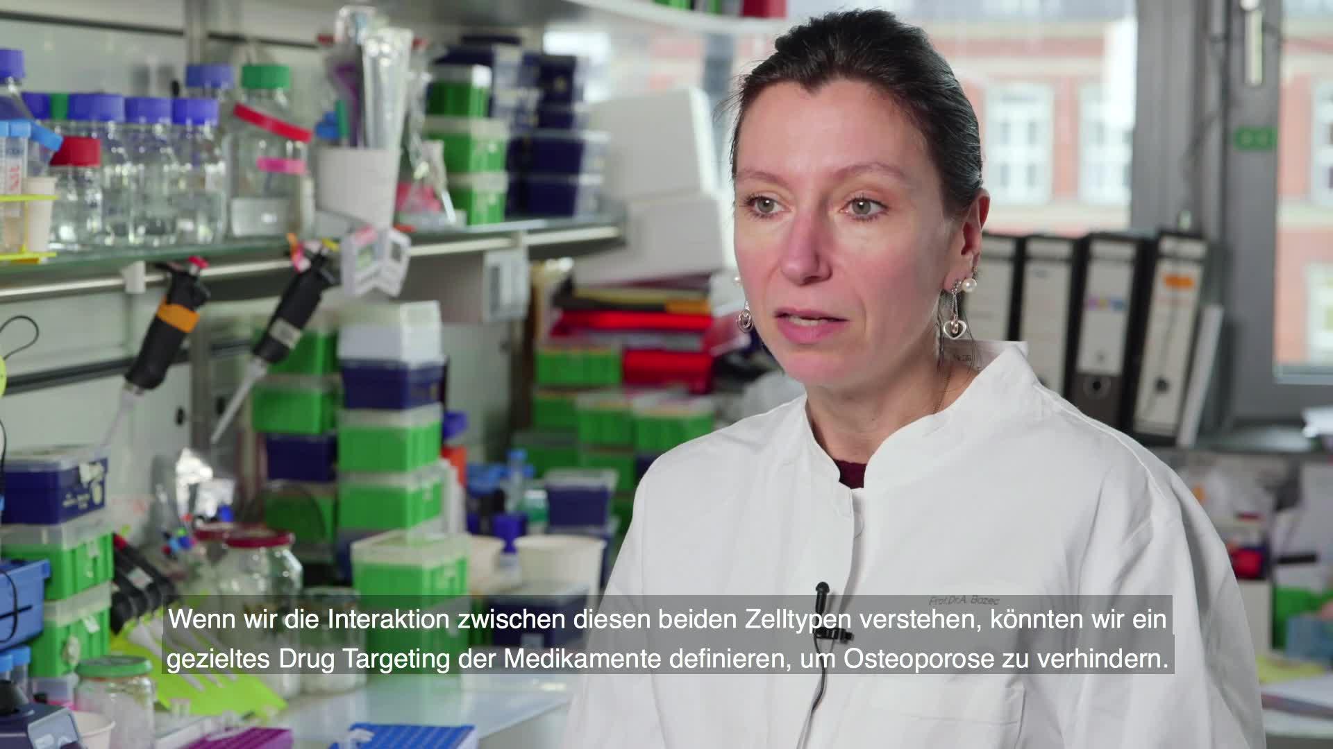 Prof. Dr. Aline Bozec - Ein Medikament gegen starken Knochenverlust preview image