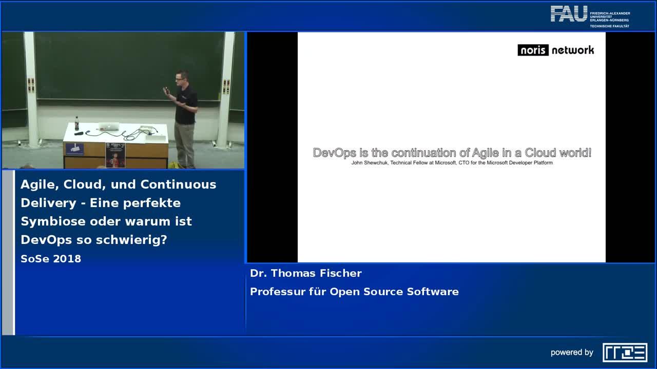 Agile, Cloud, und Continuous Delivery - Eine perfekte Symbiose oder warum ist DevOps so schwierig? preview image