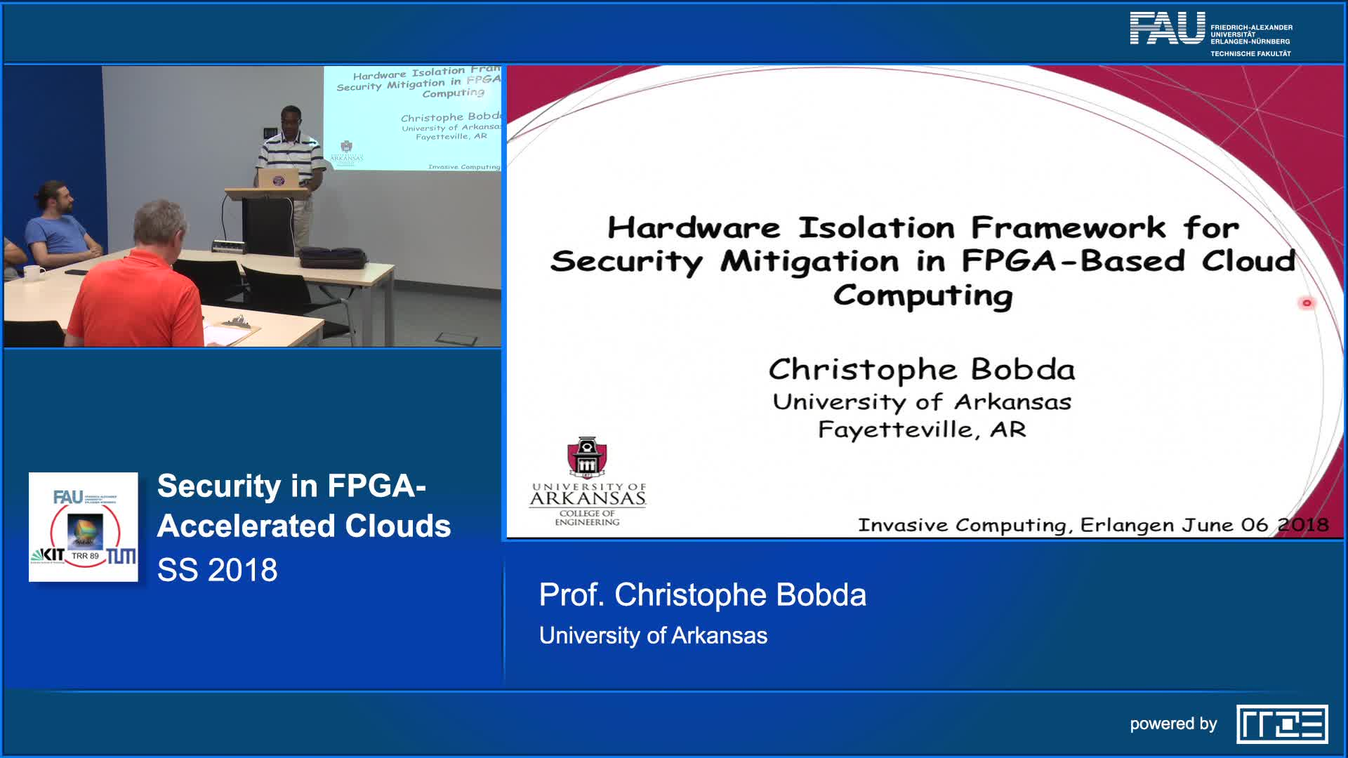 Security in FPGA-Accelerated Clouds preview image