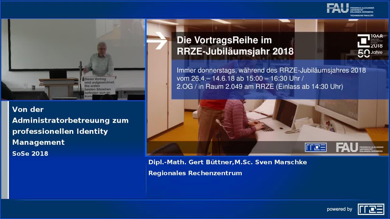 Von der Administratorbetreuung zum professionellen Identity Management preview image