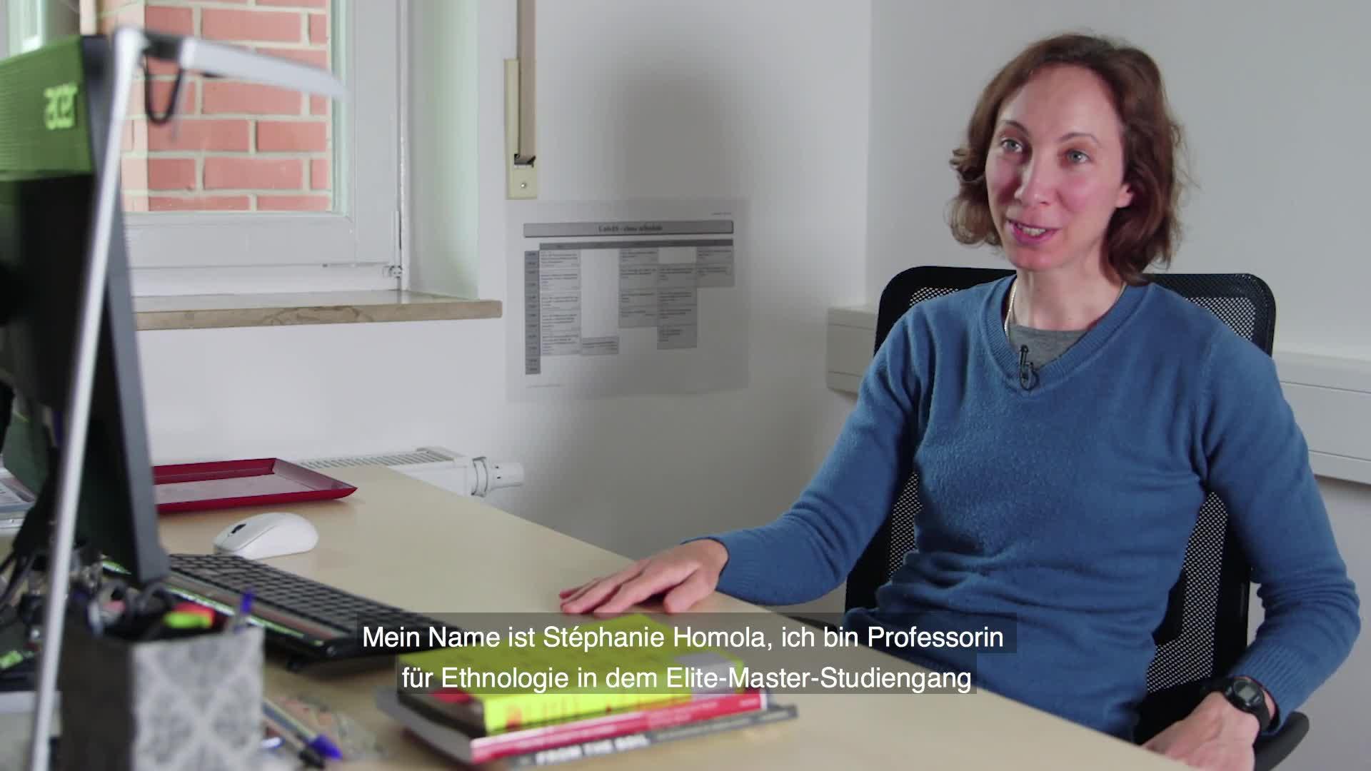 Prof. Dr. Stéphanie Homola - Ethnologie mit Schwerpunkt asiatischer Raum preview image
