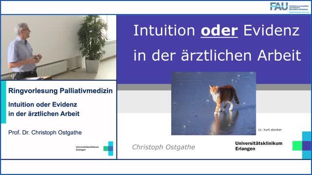 Intuition oder Evidenz in der ärztlichen Arbeit preview image