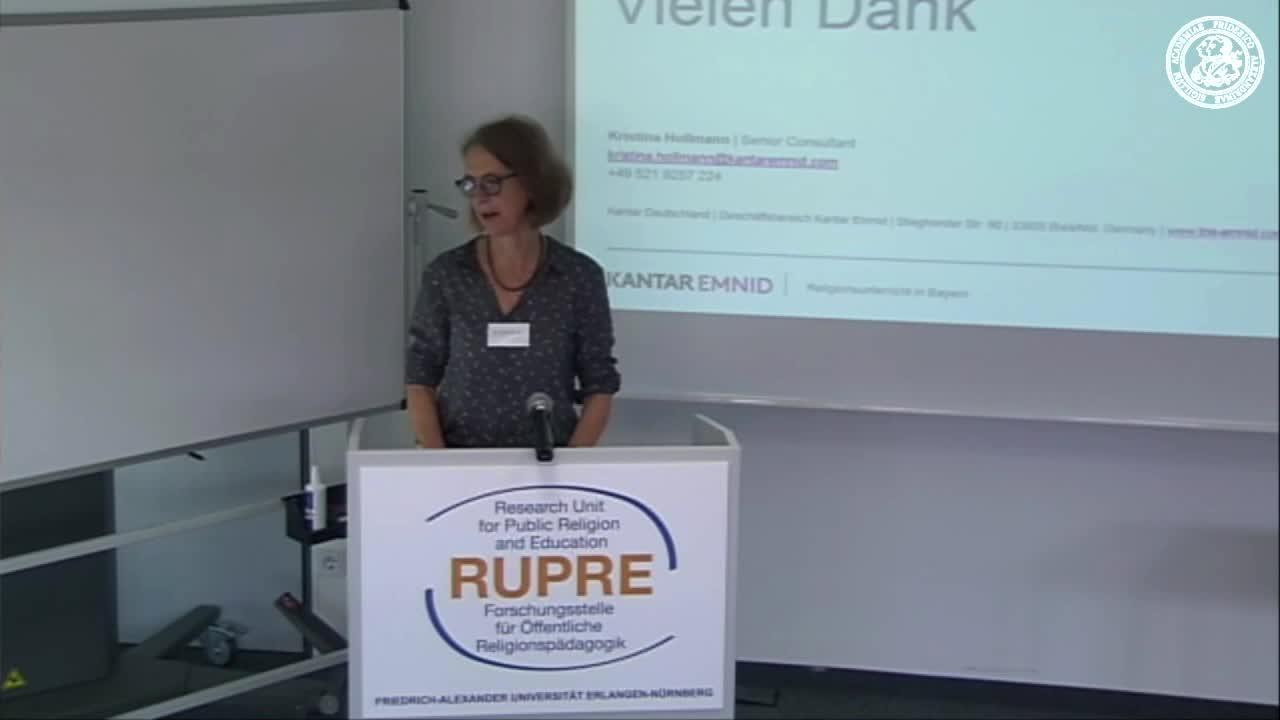 """Expert*innengespräch """"Religionsunterricht in Bayern"""" - Input II zu EMNID preview image"""