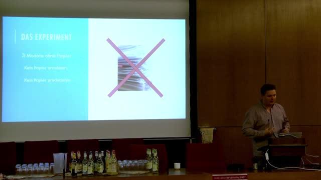 Papierlos Experiment preview image