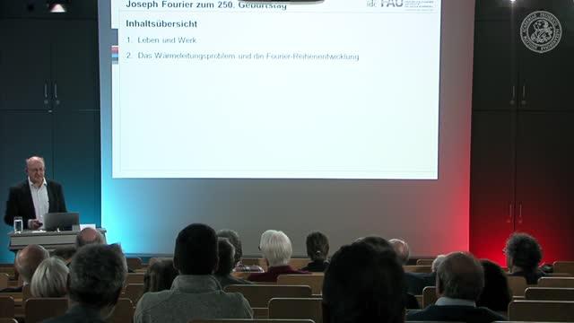 Die Welt aus Schwingungen zusammensetzen! Zum 250. Geburtstag von Joseph Fourier preview image