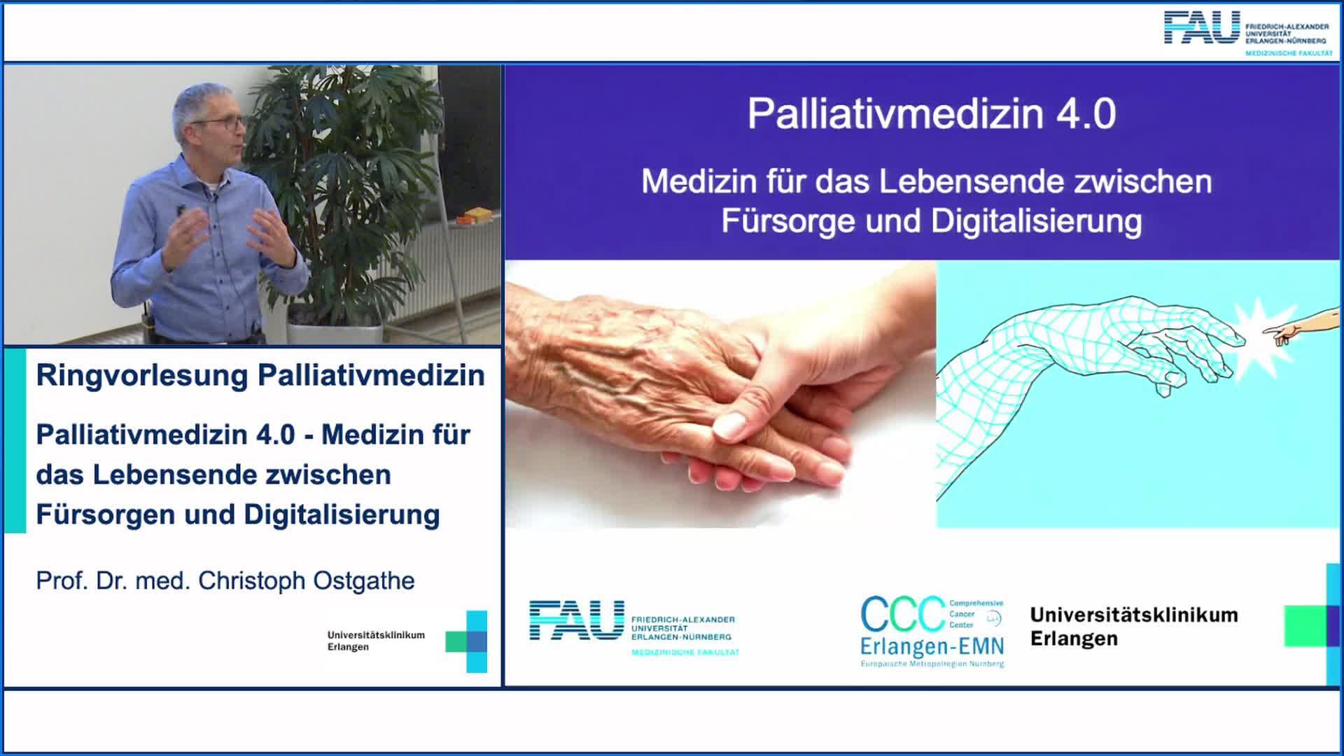 Palliativmedizin 4.0 - Medizin für das Lebensende zwischen Fürsorgen und Digitalisierung preview image