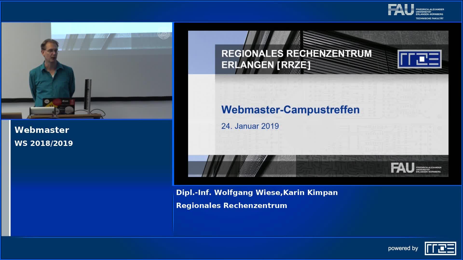 Bild zum Video Webmaster-Campustreffen