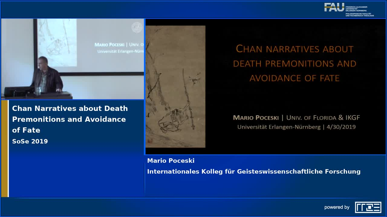 Chan Narratives about Death Premonitions and Avoidance of Fate preview image