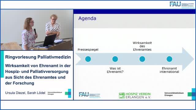 Wirksamkeit von Ehrenamt in der Hospiz- und Palliativversorgung aus Sicht des Ehrenamtes und der Forschung preview image
