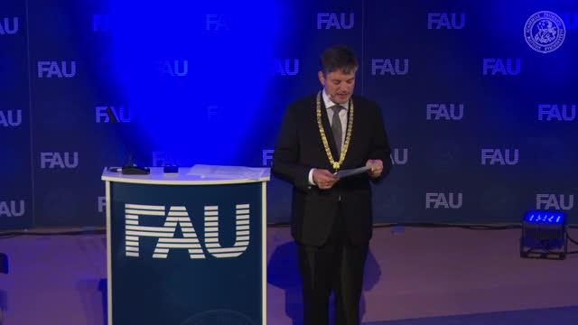 Verleihung der Verdienstmedaille der FAU an Prof. Dr. Yaling Pan preview image