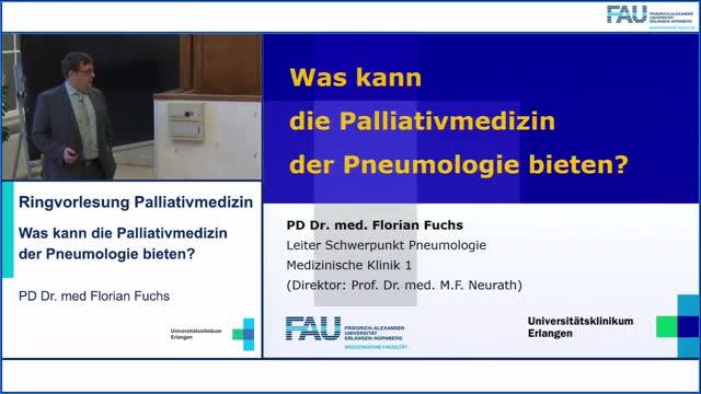 Was kann die Palliativmedizin  der Pneumologie bieten? preview image