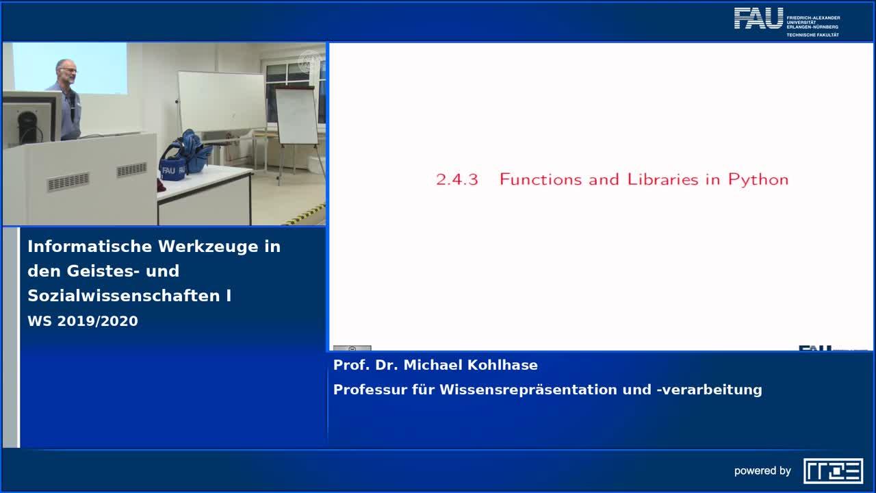 Informatische Werkzeuge in den Geistes- und Sozialwissenschaften I preview image