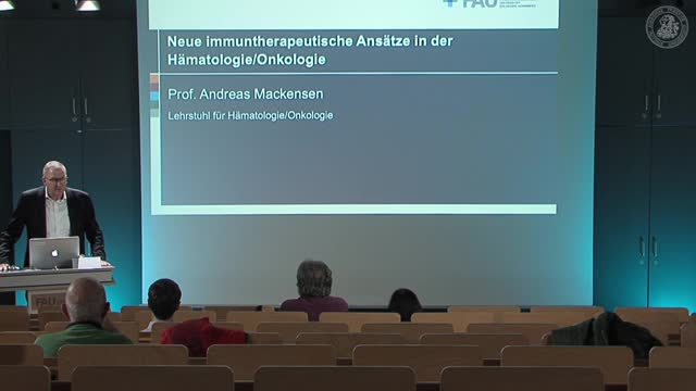 Neue immuntherapeutische Ansätze in der Hämatologie/Onkologie preview image