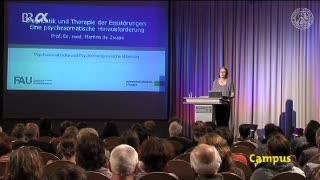Diagnostik und Therapie der Essstörungen: eine psychosomatische Herausforderung preview image